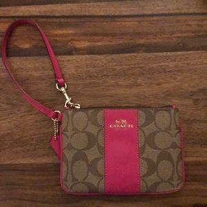 Like New - Coach Hand wallet